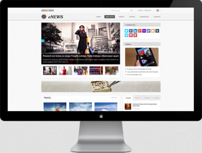 AT Enews - Joomla Template