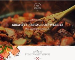 BT Bistro - Responsive restaurant template for Joomla 3.x and 2.5