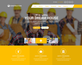 BT Construction - Responsive construction and interior design template for Joomla 3.4 and 2.5