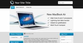 Computer Store - Free Online Shop Template for Joomla 2.5 by Themza
