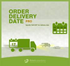 Magento Order Delivery Date Pro Extension