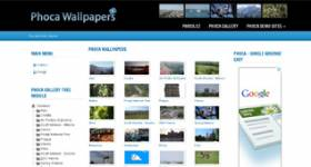 Phoca Wallpapers - Gallery Template for Joomla 2.5 - Ready for Phoca Gallery - by Phoca