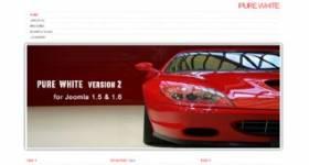 Pure White - free Minimal Template for Joomla 2.5 by JoomSpirit