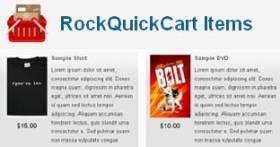 RockQuickCart - simple free Online Shopping Cart for Joomla 2.5 by RocketTheme
