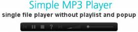 Simple MP3 Player - Free Audio Player for Joomla 2.5 - Author: Farmwork99