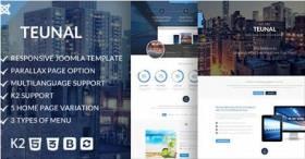 Teunal - Responsive Joomla template