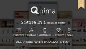 Qnima – Versatile & Responsive Opencart Theme