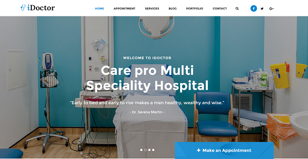 [PREVIEW] SJ iDoctor - Awesome Joomla Template Design for Doctor, Medical, Clinic, Healthcare