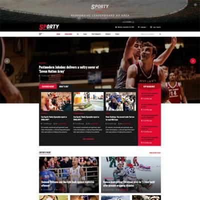 [PREVIEW] Sj Sporty - Flexible Sports News Joomla Template