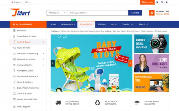 [PREVIEW] Sj JMart - Elegant eCommerce JoomShopping Template