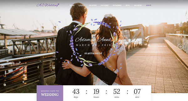 [PREVIEW] Sj Wedding - Stunning Joomla Template for Wedding, Anniversary Websites