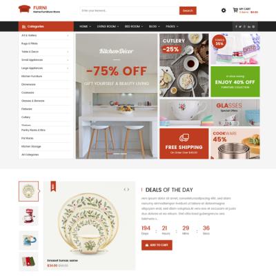 [PREVIEW] Sj Furni - Professional Furniture Joomla VirtueMart Template