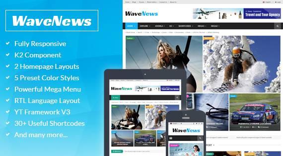 SJ WaveNews - Gorgeous Builder for News & Magazine Websites