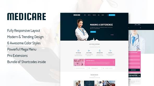 SJ Medicare - A Premium Joomla Template for Medical Service Websites