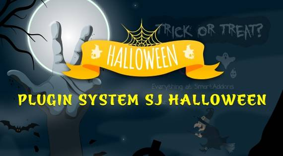 Sj Halloween Free Joomla Plugin Now Available for Joomla 3.9.22