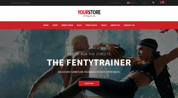 YourStore Free - Free WooCommerce WordPress Theme
