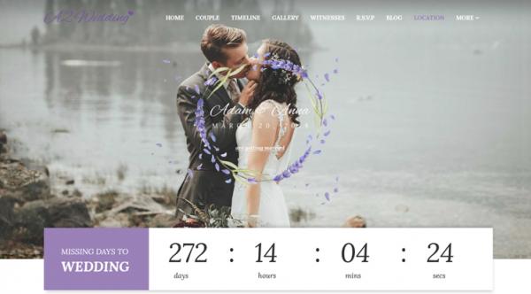 Sj Wedding - Beautiful Wedding Joomla Responsive Template