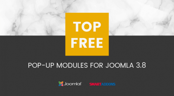 Top 20 Free Pop-up Modules for Joomla 3.8