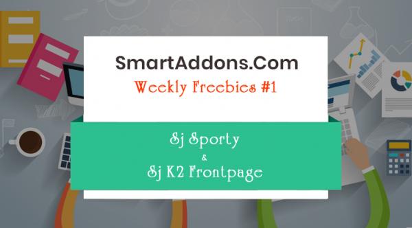 [Weekly Freebie #1] Sj Sporty Joomla Template & Sj K2 Frontpage Module