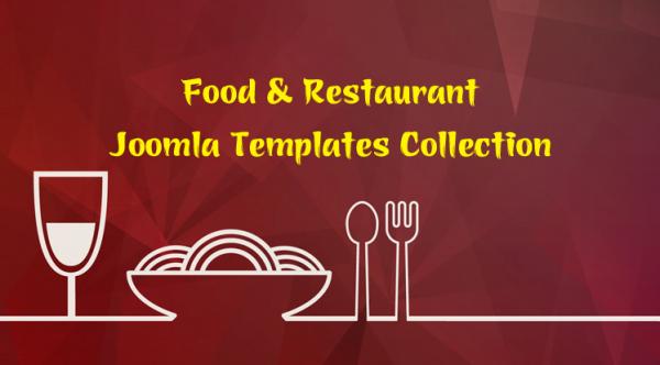 Best Food & Restaurant Joomla Templates 2019
