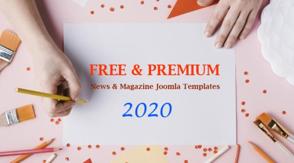 Best Free & Premium News, Magazine Joomla Templates 2020