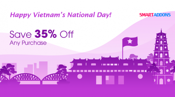 Happy Vietnam National Day: 35% OFF for All Products & Subscriptions