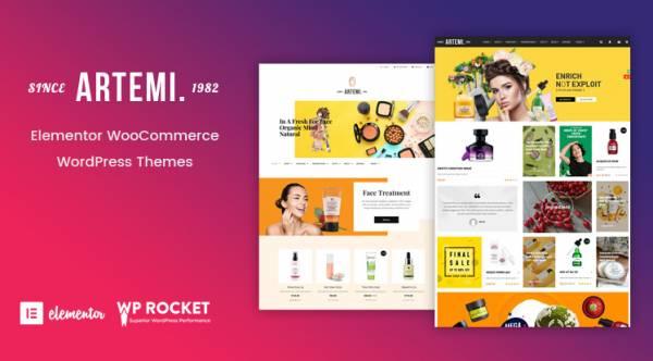 Artemi - Elementor WooCommerce WordPress Theme