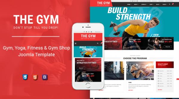 Sj TheGym - Gym, Yoga, Fitness, Gym Personal Trainer & Gym Shop Joomla Template