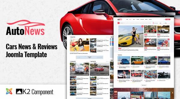 Sj AutoNews - Cars News, Cars Review Joomla Template