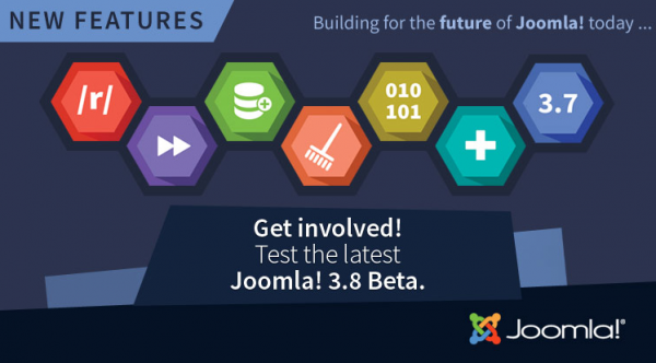 Get Involved in Testing the Latest Joomla! 3.8 Beta 2 Release