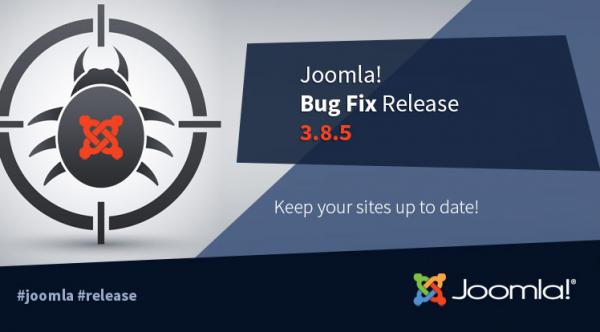 Joomla! 3.8.5 Release