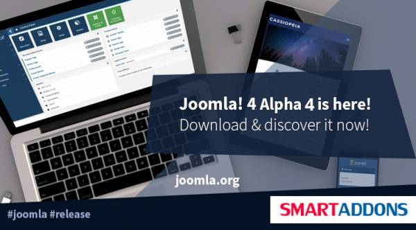 Joomla 4.0 Alpha 4 is Ready