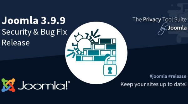 Joomla! 3.9.9 Security & Bug Fix Release
