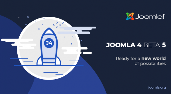 Joomla 4 Beta 5 and Joomla 3.10 Alpha 3 Release