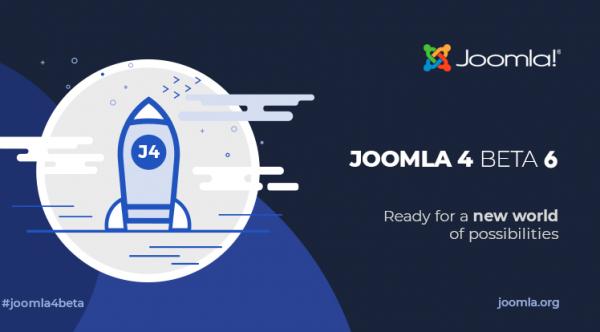 Joomla 4 Beta 6 and Joomla 3.10 Alpha 4 Release