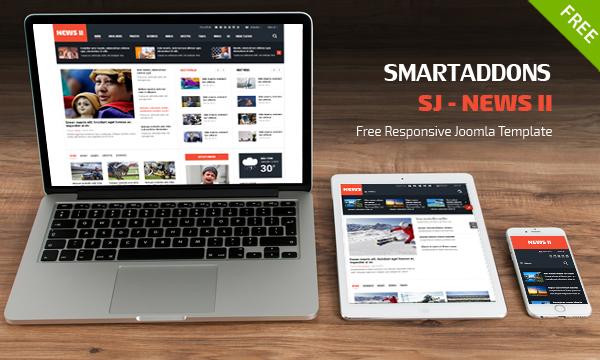 SJ News II - Free Responsive News/Magazine Joomla Template