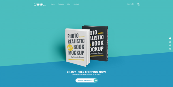 [PREVIEW] Responsive One Page Joomla Template for Book Stores - SJ TheCool