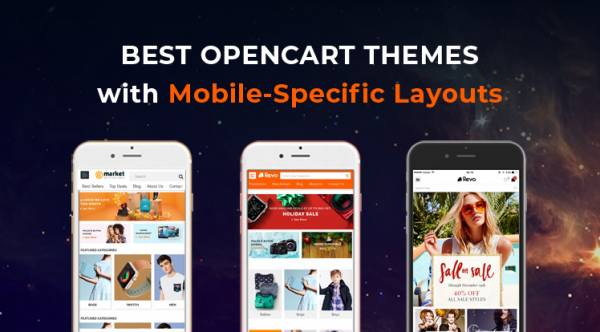 2021's Best OpenCart Themes with Mobile Layouts