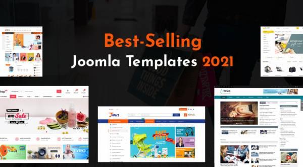 Top 10 Best-Selling Joomla Templates In 2021
