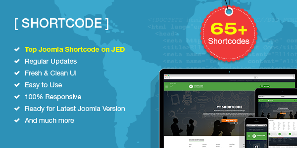 YT Shortcode 3.1.0 for Joomla 4 Available