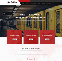[PREVIEW] Sj GoFast - Professional Transport & Logistics Joomla Template