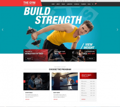 [PREVIEW] Sj The Gym - Multipurpose Gym Yoga, Fitness, Gym Personal Trainer & Gym Shop Joomla Template