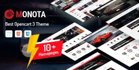 Monota - Auto Parts, Tools, Equipments Store OpenCart Theme