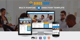 SJ Directory - Responsive Directory Joomla Template