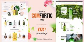 Comfortic - Clean Responsive Beauty & Cosmetic Shopify Theme