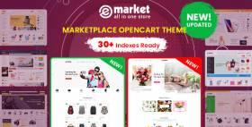 eMarket - Multipurpose MarketPlace OpenCart 3 Theme