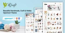 iCraft - Beautiful Handmade, Craft & Hobby OpenCart Theme