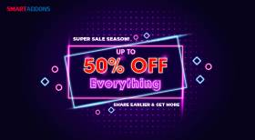 [Black Friday Sale] Up to 50% OFF Storewide on SmartAddons