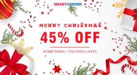 Merry Christmas! Save 45% OFF Everything & Exclusive Xmas Gifts from SmartAddons