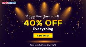 Happy New Year 2021! 40% OFF Storewide & Free 2 SmartAddons's Exclusive Gifts